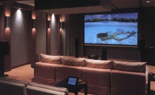 Экран для кинотеатра своими руками